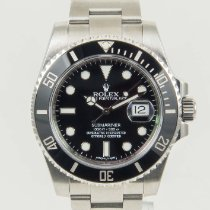 Rolex Submariner Date Stainless Steel Ceramic Black Dial