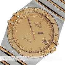 Omega Constellation Stahl / Gold Quarz
