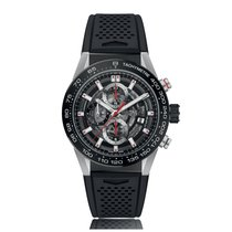 TAG Heuer Carrera Automatic Stainless Steel Black Dial Mens...