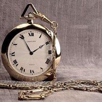 "Cartier ""empire"" Savonette Demi-platte 18kt. Pocket Watch"