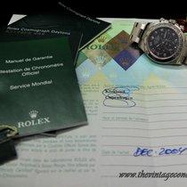 Rolex 116509 Daytona WG Black Dial with Original paper