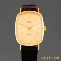 Rolex Cellini 18K Gold 4111 Lady  BOX