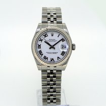 Rolex Datejust lady 31 White Roman Dial 178274