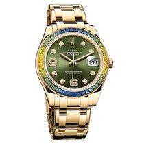 Rolex Masterpiece Pearlmaster 39 Datejust Baguette