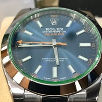 Rolex MILGAUSS Vetro verde dial Blue