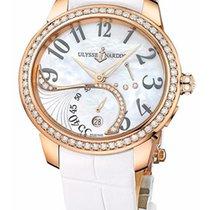 Ulysse Nardin Jade 18K Rose Gold & Diamonds Ladies Watch