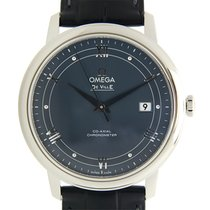Omega De Ville Stainless Steel Blue Automatic 424.13.40.20.03.002