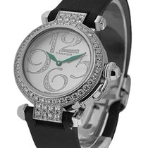 Cartier WJ123221 Pasha 32mm with Diamond Bezel - White Gold on...