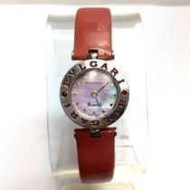 Bulgari B.zero.1 Steel Ladies Watch W/ Red Rubies & ...