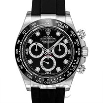 Rolex Daytona Black 18k White Gold Dia 40mm - 116519LN