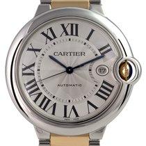 Cartier Ballon Bleu 42mm Steel/Gold W69009Z3