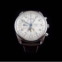 Longines Master Collection Chronograph in stainless steel