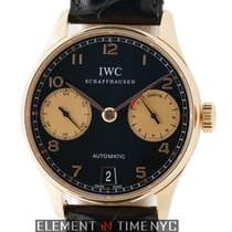 IWC Portuguese Collection 7 Day 18k Rose Gold Boutique Limited...