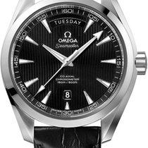 Omega Seamaster Aqua Terra 150m Co-Axial 41.5mm day date black