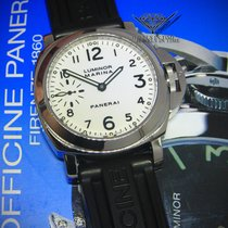 Panerai Luminor Marina PAM 3 Steel 44mm Mens Manual Watch...