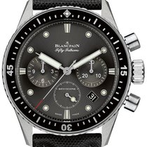 Blancpain 5200-1110-B52A Fifty Fathoms Bathyscaphe Flyback...