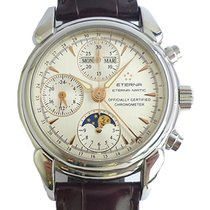 Eterna 1948 Moonphase Calendar Chronograph – Certified...