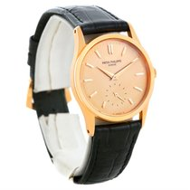 Patek Philippe Calatrava 18k Rose Gold Mechanical Watch 3796...