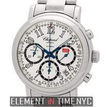 Chopard Mille Miglia Chronograph Stainless Steel 39mm Silver Dial