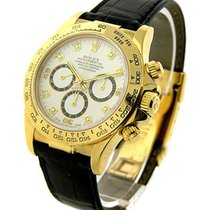 Rolex Used 16518 Yellow Gold Daytona on Strap - 16518 - with...