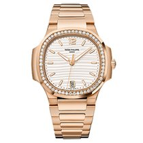 Patek Philippe 7118/1200R-001 - Rose Gold - Ladies - Nautilus