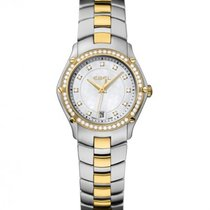 Ebel Sport Gold and Steel Case, Mother of Pearl Dial, Date