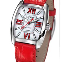 Locman History 488N00MWFRD0PSR Pearl Red Quartz Ladies