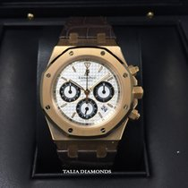 Audemars Piguet Royal Oak 39mm Rose Gold Chronograph 26022OR.O...