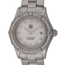 TAG Heuer : Ladies Aquaracer :  WAF1416.BA0824 :  Stainless Steel