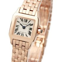 Cartier W25077X9 Santos Demoiselle - Mini Size in Rose Gold -...