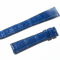 Chopard Croco Band Strap Blue 15 Mm 70/105 New C15-010 -70%