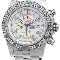 "Breitling ""Diamond Super Avenger Chronograph""."