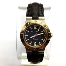 Bulgari 18k Yellow Gold & Titanium Automatic Unisex Watch...