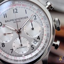 Baume & Mercier Capeland Chronograph 42 Steel on Leather...