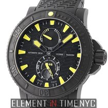Ulysse Nardin Maxi Marine Diver Black Sea Rubber-Coated Steel...