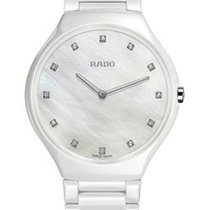 Rado True Thinline Mother of Pearl Dial White High-tech...