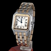 Cartier panthere steel and gold lady