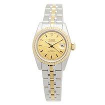 帝陀 (Tudor) Heritage 18k Gold Steel Gold Automatic 92413-62433-...