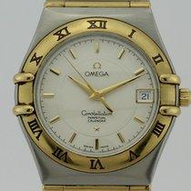 Omega Constellation  Perpetual Calendar Quartz Steel and Gold