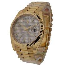 Rolex Unworn 228238_champ_stick Day Date 40 in Yellow Gold -...