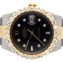 Rolex 18K Rolex Datejust 2 Tone 36MM Stainless Steel Oyster...
