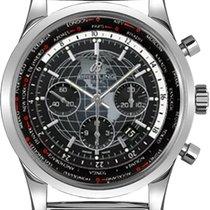 ブライトリング (Breitling) Transocean Chronograph Unitime GMT Mesh...
