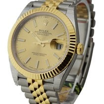 Rolex Unworn 126333CHIJ Datejust 41mm - Steel and Yellow Gold...