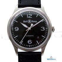Bell & Ross BR V1-92 Black Steel BRV192-BL-ST/SCA