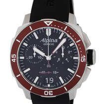 Alpina Seastrong Diver Big Date Chronograph Men's Watch –...