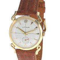 Wittnauer 14K Gold Watch - Unique Art Deco Lugs - Circa 1940s