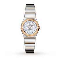 Omega Mini Constellation 18ct Gold Ladies Watch 123.20.24.60.5...