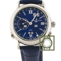 Ulysse Nardin GMT Perpetual Calendar White Gold 38.5mm Blue...