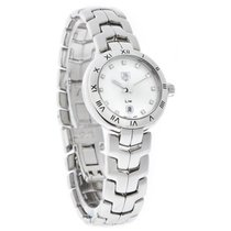 TAG Heuer Link Ladies Diamond White Swiss Quartz Watch...