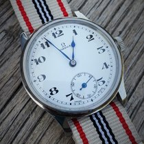 Omega 1920's Enamel Marriage watch rebuilt